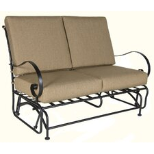 Classico Love Seat Glider with Cushion