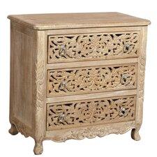 Carver 3 Drawer Cabinet
