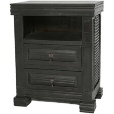 Wesley 2 Drawer Nightstand