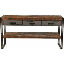 <strong>MOTI Furniture</strong> Addison 3 Drawer Console Table