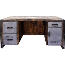 Addison 4 Drawer Desk