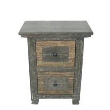 <strong>MOTI Furniture</strong> Urban 2 Drawer Nightstand