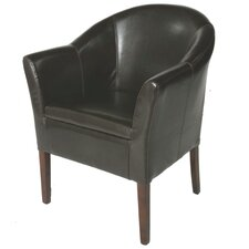 True Leather Easy Arm Chair