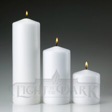 Pillar Candles (Set of 3)