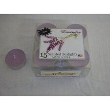 <strong>Light In the Dark</strong> Lavender Tealight Candles (Set of 15)