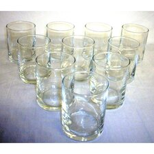 Clear Glass Votive Candle Holders (Set of 36)