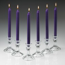 Unscented Taper Candles (Set of 10)