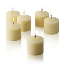 New Elegant Unscented Votive Candles (Set of 72)