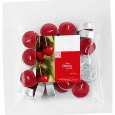 Cherry Scented Tea light Candles (Set of 30)
