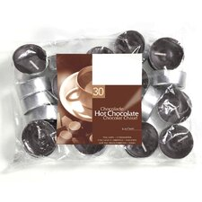 Hot Chocolate Scented Tea light Candles (Set of 30)