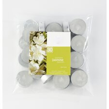 Jasmine Scented Tea light Candles (Set of 30)