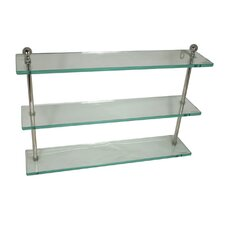 <strong>Allied Brass</strong> Universal Triple Bathroom Shelf