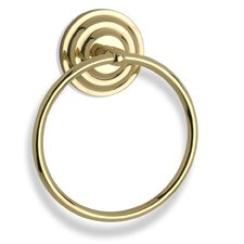 "<strong>Allied Brass</strong> Que New Single 6"" Towel Ring"