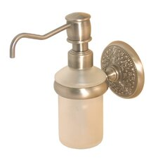 <strong>Allied Brass</strong> Monte Carlo Wall Mounted Soap Dispenser