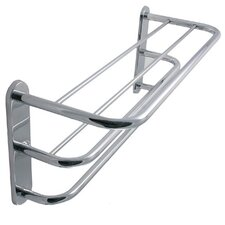 <strong>Allied Brass</strong> Universal 3-Teir Hotel Shelf/ Towel Rack