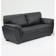 Katia Faux Leather 3 Seater Sofa