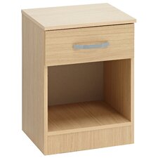 Budapest 1 Drawer Bedside Table