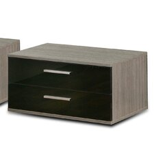 Cellini 2 Drawers Bedside Table