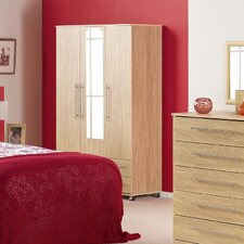 <strong>Ideal Furniture</strong> Bobby Triple Plain Wardrobe