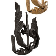 <strong>Menagerie</strong> Casa Artistica Forked with Leaf Curtain Holdbacks (Set of 2)