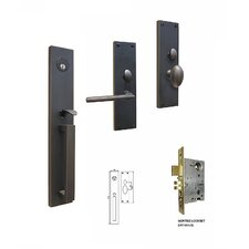 Manchester Keyed Entry Mortise Entry Set