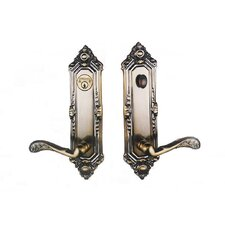 "2.38"" Tubular Keyed Entry Viceroy Handleset"
