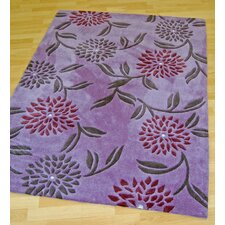 Gem Plum Tufted Rug