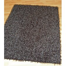 Haven Black Tufted Rug