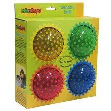 "4"" See-Me Sensory Toy Balls Set"