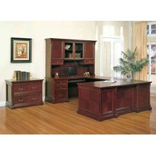 Birmingham U-Shaped Desk Office Suite