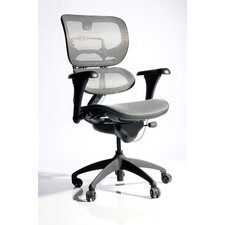 Mesh Arm Chair with  Inward and Outward Arms Pad