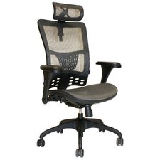 <strong>Absolute Office</strong> Mesh Arm Chair with Adjustable Arm Pads