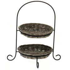 26cm Cake Stand in Grey