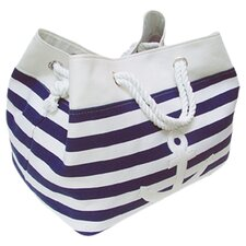 Tobs Soft Storage Rectangular Anchor Bag in Blue