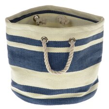 Tobs Soft Storage New England Round Bag in Blue