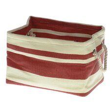 Tobs Soft Storage New England Medium Rectangular Bag in Red