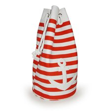 Tobs Soft Storage Large Anchor Bag in Red
