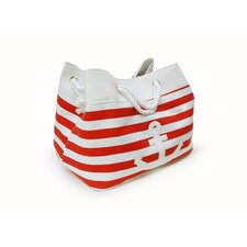 Tobs Soft Storage Rectangular Anchor Bag in Red