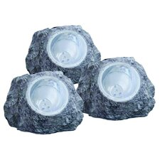 <strong>Home Essence</strong> Solar 2 Light LED Garden Light (Set of 3)