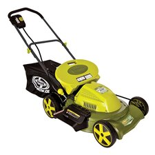 "Mow Joe 20"" 3-in-1 Cordless Lawn Mower with Side Discharge, Rear Bag and Mulch"