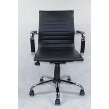 WIinport Mid-Back Executive Swivel Office Chair