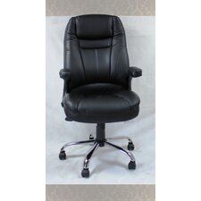 8Winport Pleated High-Back Office Chair
