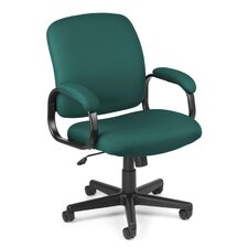 Mid-Back Executive Standard Fabric Confrence Chair with Arms