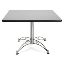"<strong>OFM</strong> 42"" Square Multi-Purpose Polished Aluminum Table"