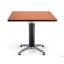 "Multi-use 29.5"" x 36"" Square Table with Mesh Base"