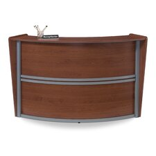 <strong>OFM</strong> Reception Furniture Single Unit Curved Station