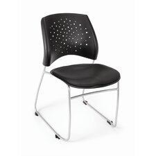 Star Stack Chair Vinyl Seat (Set of 4)