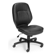 High-Back Leatherette Ergonomic Confrence Chair