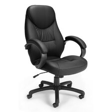 Mid-Back Leatherette Ergonomic Conference Chair