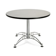 "<strong>OFM</strong> 42"" Round Multi-Purpose Polished Aluminum Table"